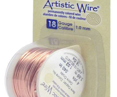 18 gauge memory wire Artistic Wire 18-Gauge Bare Copper Wire, 4-Yards 18 Gauge Memory Wire New Artistic Wire 18-Gauge Bare Copper Wire, 4-Yards Galleries