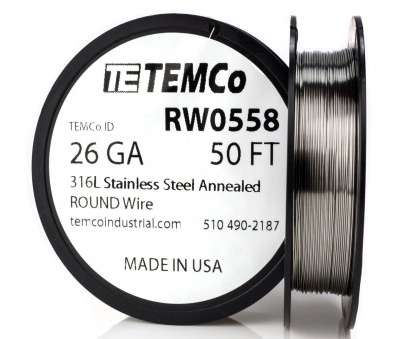 18 gauge memory wire TEMCO STAINLESS STEEL Wire SS 316L, 26 Gauge 50 FT Non-Resistance 18 Gauge Memory Wire Creative TEMCO STAINLESS STEEL Wire SS 316L, 26 Gauge 50 FT Non-Resistance Photos