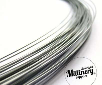18 gauge millinery wire Sprung Silver Millinery Wire, Brims &, Making 0.9mm -1m 18 Gauge Millinery Wire Brilliant Sprung Silver Millinery Wire, Brims &, Making 0.9Mm -1M Collections