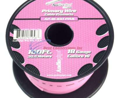 18 gauge pink wire Amazon.com: 18 GA 100' Feet Audiopipe Primary Power Wire Remote, Audio Home, Rolls): Home Improvement 18 Gauge Pink Wire Simple Amazon.Com: 18 GA 100' Feet Audiopipe Primary Power Wire Remote, Audio Home, Rolls): Home Improvement Ideas