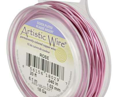 18 gauge pink wire Artistic Wire 18-Gauge Silver Plated Rose Wire, 20-Feet 18 Gauge Pink Wire Top Artistic Wire 18-Gauge Silver Plated Rose Wire, 20-Feet Images