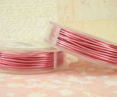 18 gauge pink wire Rose Pink Artistic Wire, Permanently Colored -, Pick Gauge, 20,, 24,, 28, 100% Guarantee 18 Gauge Pink Wire Creative Rose Pink Artistic Wire, Permanently Colored -, Pick Gauge, 20,, 24,, 28, 100% Guarantee Images