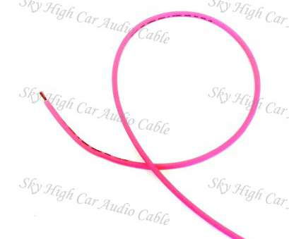 18 gauge pink wire Sky High, Audio, 18 Gauge Primary Wire, 100ft Spool 18 Gauge Pink Wire Professional Sky High, Audio, 18 Gauge Primary Wire, 100Ft Spool Galleries