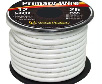 18 gauge primary wire White 12-Gauge Primary Wire Roll of 25Ft 14 Top 18 Gauge Primary Wire Photos