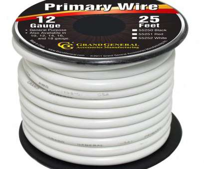 18 gauge vs 16 gauge wire Amazon.com: Grand General 55252 White 12-Gauge Primary Wire: Automotive 18 Gauge Vs 16 Gauge Wire Fantastic Amazon.Com: Grand General 55252 White 12-Gauge Primary Wire: Automotive Ideas