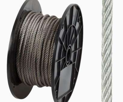 1/8 gauge wire 14 Gauge Stainless Steel Wire Elegant, Wire Rope Chain & Rope, Home Depot 1/8 Gauge Wire Top 14 Gauge Stainless Steel Wire Elegant, Wire Rope Chain & Rope, Home Depot Photos