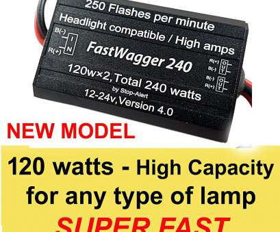 18 Gauge Wire Amps 24V Practical Amazon.Com: Stop-Alert Headlights 10, Alternating, Wag Electronic FastWagger, LED Flasher Relay Emergency Police Ambulance Universal Controller Photos