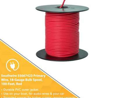 18 gauge wire area Southwire 55667423 Primary Wire, 18-Gauge Bulk Spool, 100-Feet,,, Electrical Wires, Amazon.com 18 Gauge Wire Area Perfect Southwire 55667423 Primary Wire, 18-Gauge Bulk Spool, 100-Feet,,, Electrical Wires, Amazon.Com Images