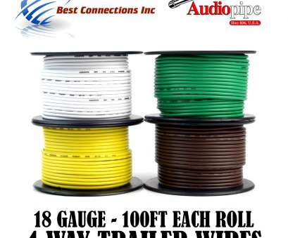18 gauge wire area Trailer Wire Light Cable, Harness 4, Cord 18 Gauge, 100ft roll, Rolls 18 Gauge Wire Area Fantastic Trailer Wire Light Cable, Harness 4, Cord 18 Gauge, 100Ft Roll, Rolls Photos