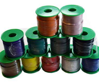 18 gauge wire colors 50 FT EACH, FT 18 GAUGE BLUE, 11 SPOOLS COLORS STRANDED PRIMARY WIRE CABLE 18 Gauge Wire Colors Simple 50 FT EACH, FT 18 GAUGE BLUE, 11 SPOOLS COLORS STRANDED PRIMARY WIRE CABLE Collections