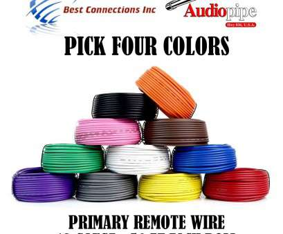 18 gauge wire colors Amazon.com: 4 Rolls Audiopipe, Feet 18 Gauge, Primary Remote Wire Auto Power Cable: Home Audio & Theater 18 Gauge Wire Colors Cleaver Amazon.Com: 4 Rolls Audiopipe, Feet 18 Gauge, Primary Remote Wire Auto Power Cable: Home Audio & Theater Collections