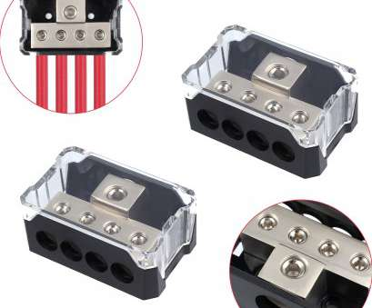18 gauge wire distribution block Details about 2pcs Distribution Block Power Platinum Series, Gauge In to 4 Gauge, US 9 Most 18 Gauge Wire Distribution Block Collections