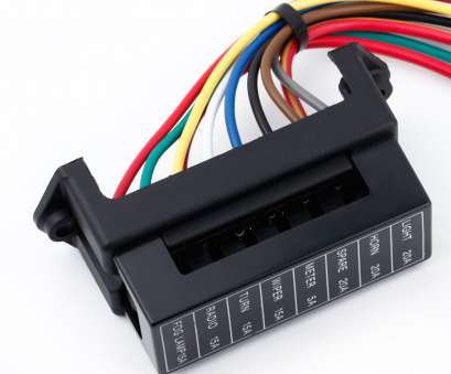 18 gauge wire distribution block Get Quotations · 8, Fuse Block Circuit, Trailer Auto Blade Fuse, Block Holder DC, 24V 18 Gauge Wire Distribution Block Perfect Get Quotations · 8, Fuse Block Circuit, Trailer Auto Blade Fuse, Block Holder DC, 24V Solutions