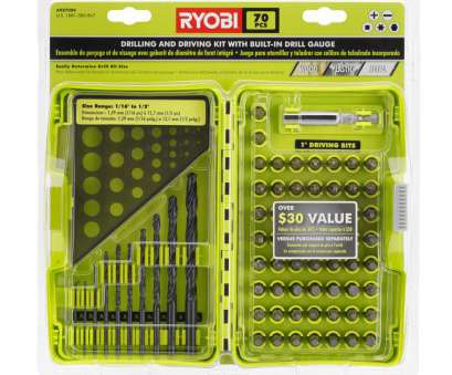 18 gauge wire drill bit size Ryobi Black Oxide Drilling, Driving Bits (70-Piece) with Built-In Plastic Drill Gauge 18 Gauge Wire Drill, Size Practical Ryobi Black Oxide Drilling, Driving Bits (70-Piece) With Built-In Plastic Drill Gauge Galleries