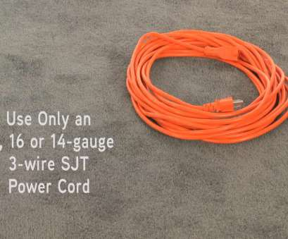 18 gauge wire extension cord How to, Replace, Power Cord on a Hoover Commercial Back Pack Vacuum Cleaner, WebstaurantStore TV Video 18 Gauge Wire Extension Cord Cleaver How To, Replace, Power Cord On A Hoover Commercial Back Pack Vacuum Cleaner, WebstaurantStore TV Video Solutions