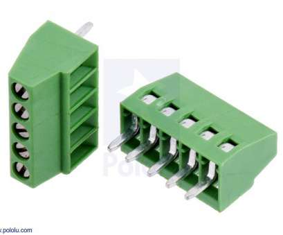 18 gauge wire pcb hole size Pololu, Screw Terminal Block: 5-Pin, 0.1″ Pitch, Side Entry (2-Pack) 18 Gauge Wire, Hole Size Brilliant Pololu, Screw Terminal Block: 5-Pin, 0.1″ Pitch, Side Entry (2-Pack) Photos
