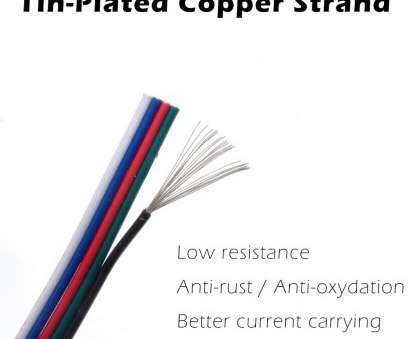 18 gauge wire in mm2 RGBW Extension Cable 5 Conductor, Hook-up Wire 22, (0.34 mm2) with Mounting Clip, Screw, Best, Strip Light Wiring, 20ft, Meter, Reel Packing 18 Gauge Wire In Mm2 Fantastic RGBW Extension Cable 5 Conductor, Hook-Up Wire 22, (0.34 Mm2) With Mounting Clip, Screw, Best, Strip Light Wiring, 20Ft, Meter, Reel Packing Solutions