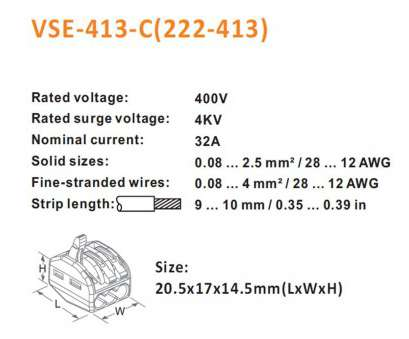 18 gauge wire in mm2 Wire Connector, Bestwo 222-413 LEVER-NUT 3 Conductor Compact Slicing Connectors, 222 Series Electrical Interconnections Terminals Boxed 10, Orange + 18 Gauge Wire In Mm2 Simple Wire Connector, Bestwo 222-413 LEVER-NUT 3 Conductor Compact Slicing Connectors, 222 Series Electrical Interconnections Terminals Boxed 10, Orange + Solutions