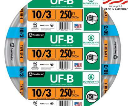 18 gauge wire menards Shop Southwire 250-ft 10/3 UF Wire (By-the-Roll) at Lowes.com 18 Gauge Wire Menards Cleaver Shop Southwire 250-Ft 10/3 UF Wire (By-The-Roll) At Lowes.Com Solutions