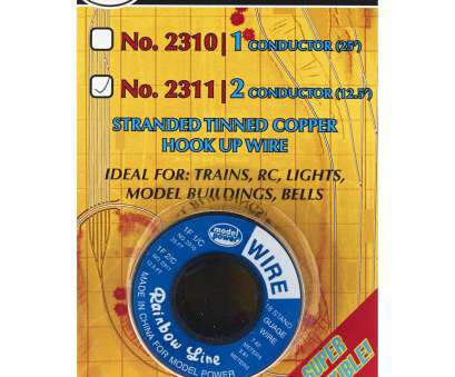 18 gauge wire power Model Power 2 Conductor Wire Carded 18 (Gauge) 12.5' (large view) 18 Gauge Wire Power Top Model Power 2 Conductor Wire Carded 18 (Gauge) 12.5' (Large View) Photos