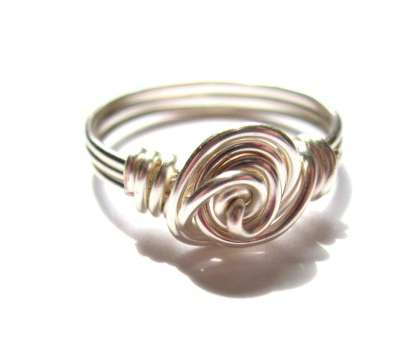 18 gauge wire ring Wire Wrapped Rose Ring Tutorial, Emerging Creatively Jewelry 18 Gauge Wire Ring Fantastic Wire Wrapped Rose Ring Tutorial, Emerging Creatively Jewelry Photos