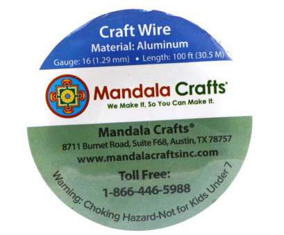 18 gauge wire size Amazon.com: Mandala Crafts 12 14 16 18 20 22 Gauge Anodized Jewelry Making Beading Floral Colored Aluminum Craft Wire, Gauge, Copper) 18 Gauge Wire Size New Amazon.Com: Mandala Crafts 12 14 16 18 20 22 Gauge Anodized Jewelry Making Beading Floral Colored Aluminum Craft Wire, Gauge, Copper) Collections