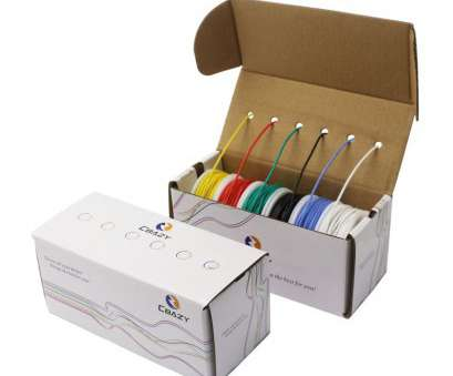 18 gauge wire stranded CBAZY Hook up Wire, (Stranded Wire Kit) 18 Gauge Flexible Silicone rubber Electric wire 6 colors 16.4 feet Each 18 AWG 18 Gauge Wire Stranded Best CBAZY Hook Up Wire, (Stranded Wire Kit) 18 Gauge Flexible Silicone Rubber Electric Wire 6 Colors 16.4 Feet Each 18 AWG Ideas