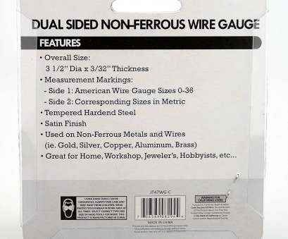 18 gauge wire to metric Amazon.com: SE JT47WG-C Dual-Sided Non-Ferrous Wire Gauge, 0-36 American Standard (AWG), SAE: Home Improvement 18 Gauge Wire To Metric New Amazon.Com: SE JT47WG-C Dual-Sided Non-Ferrous Wire Gauge, 0-36 American Standard (AWG), SAE: Home Improvement Solutions