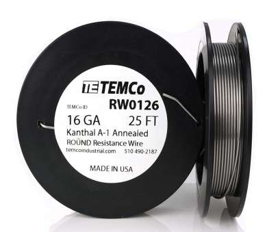 18 gauge wire vape TEMCo Kanthal A1 wire 16 Gauge 50 Ft Resistance, A-1 ga, Amazon.com 18 Gauge Wire Vape Creative TEMCo Kanthal A1 Wire 16 Gauge 50 Ft Resistance, A-1 Ga, Amazon.Com Photos