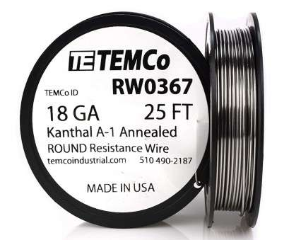 18 gauge wire vape TEMCo Kanthal A1 wire 18 Gauge 1 lb (253, Resistance, A-1 ga, Amazon.com 18 Gauge Wire Vape Brilliant TEMCo Kanthal A1 Wire 18 Gauge 1 Lb (253, Resistance, A-1 Ga, Amazon.Com Photos