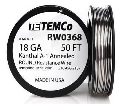 18 gauge wire vape TEMCo Kanthal A1 wire 18 Gauge 1 lb (253, Resistance, A-1 ga, Amazon.com 18 Gauge Wire Vape New TEMCo Kanthal A1 Wire 18 Gauge 1 Lb (253, Resistance, A-1 Ga, Amazon.Com Collections