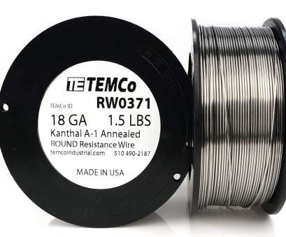 18 gauge wire vape TEMCo Kanthal A1 wire 18 Gauge 1 lb (253, Resistance, A-1 ga, Amazon.com 18 Gauge Wire Vape Most TEMCo Kanthal A1 Wire 18 Gauge 1 Lb (253, Resistance, A-1 Ga, Amazon.Com Galleries