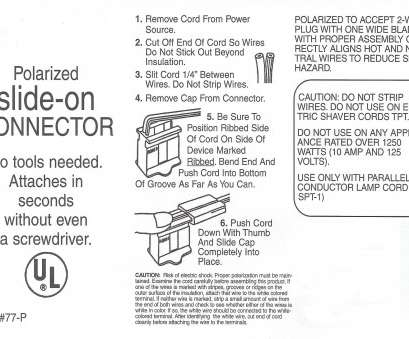 18 gauge wire watts Click Here, How To Install a UL Slide-On Plug Instruction Sheet 18 Gauge Wire Watts Simple Click Here, How To Install A UL Slide-On Plug Instruction Sheet Photos