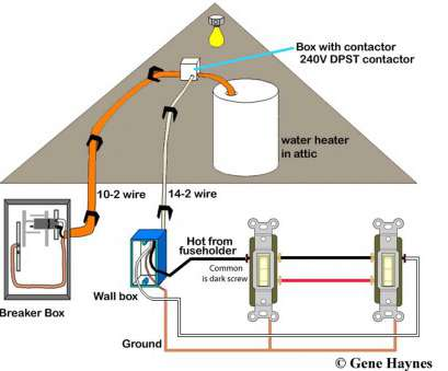 2 way heater switch wiring diagram How to wire water heater with, switches 8 Creative 2, Heater Switch Wiring Diagram Pictures