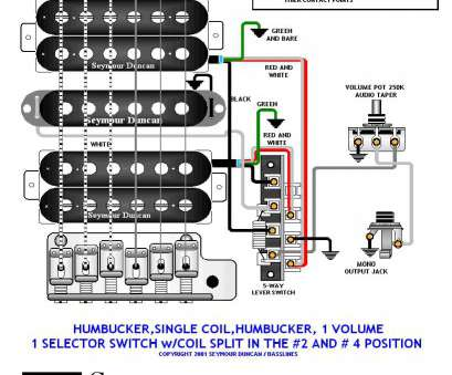 2 humbuckers 1 single coil 5 way switch wiring ... 2 humbuckers, single + 5-way switch, volume + split #2 #4 switch 2 Humbuckers 1 Single Coil 5, Switch Wiring Most ... 2 Humbuckers, Single + 5-Way Switch, Volume + Split #2 #4 Switch Galleries