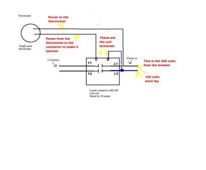 2 pole thermostat wiring diagram Double Pole Thermostat Wiring Diagram Also Contactor, mediapickle.me 2 Pole Thermostat Wiring Diagram Brilliant Double Pole Thermostat Wiring Diagram Also Contactor, Mediapickle.Me Collections