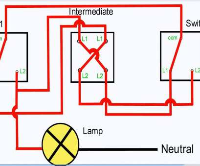 2 way switch wiring connection ... Three, Light Switching Throughout Stair Light Switch Wiring 2, Switch Wiring Connection Fantastic ... Three, Light Switching Throughout Stair Light Switch Wiring Collections