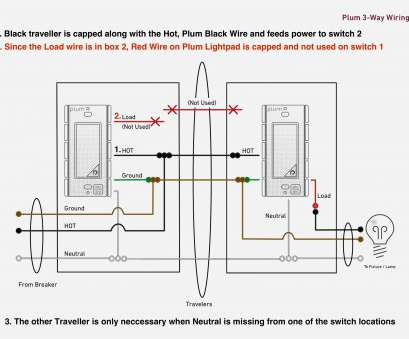 2 way switch wiring diagram usa 3 Gang Light Switch Diagram