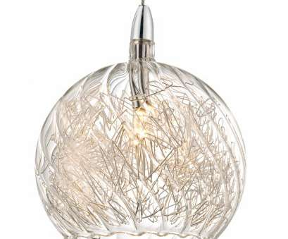 2 wire pendant light Possini Euro 4 1/2