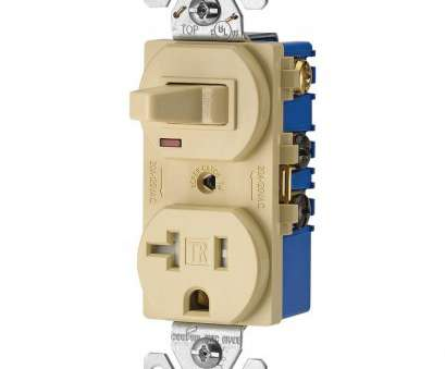 2 wire toggle switch wiring Eaton 15, 120-Volt 5-15 3-Wire Combination Receptacle, Toggle Switch, Ivory 2 Wire Toggle Switch Wiring Fantastic Eaton 15, 120-Volt 5-15 3-Wire Combination Receptacle, Toggle Switch, Ivory Images