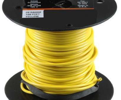 20 gauge electrical wire Auveco # 21344 20 Gauge Primary Wire, Yellow 20 Gauge Electrical Wire Top Auveco # 21344 20 Gauge Primary Wire, Yellow Collections