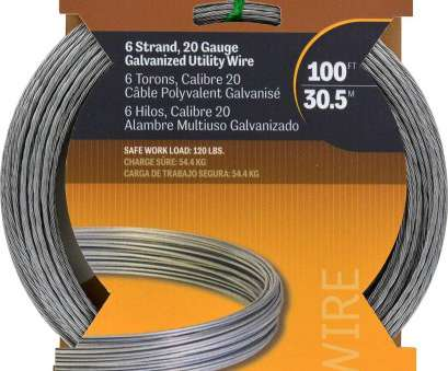 20 gauge electrical wire Hillman 122070 Galvanized Stranded Wire 6 strand, Ft, Electrical Wires, Amazon.com 20 Gauge Electrical Wire Practical Hillman 122070 Galvanized Stranded Wire 6 Strand, Ft, Electrical Wires, Amazon.Com Images