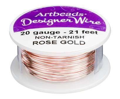 20 gauge speaker wire Artbeads Designer Wire, Rose Gold Non-Tarnish 20 Gauge, ft. spool) 10 New 20 Gauge Speaker Wire Images