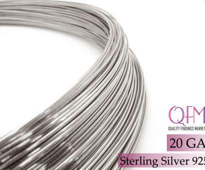 20 gauge wire diameter 1 meter (3.28 feet) Sterling Silver, wire, Thickness 20GA (0.8mm), available in bulk (spools), Sterling Silver wire 20 Gauge 20 Gauge Wire Diameter Perfect 1 Meter (3.28 Feet) Sterling Silver, Wire, Thickness 20GA (0.8Mm), Available In Bulk (Spools), Sterling Silver Wire 20 Gauge Collections