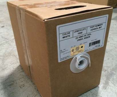 22 gauge 4 conductor solid wire 1000' Ft White 22 Gauge, 4 Conductor 22/4 Solid Copper Security Alarm Wire UL 22 Gauge 4 Conductor Solid Wire Practical 1000' Ft White 22 Gauge, 4 Conductor 22/4 Solid Copper Security Alarm Wire UL Solutions