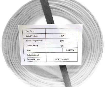 22 gauge 4 conductor solid wire 500ft, 22/4 Solid Security Cable, CMR, White, CoilPack 22 Gauge 4 Conductor Solid Wire Creative 500Ft, 22/4 Solid Security Cable, CMR, White, CoilPack Pictures