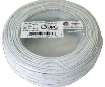 22 gauge 4 conductor solid wire Upg 22-gauge, 4-conductor Alarm White Cable, 500ft Coil Pack (solid) UBC77025, Buyer Sage 22 Gauge 4 Conductor Solid Wire Nice Upg 22-Gauge, 4-Conductor Alarm White Cable, 500Ft Coil Pack (Solid) UBC77025, Buyer Sage Images