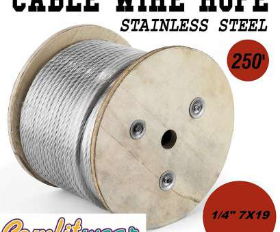 22 gauge aircraft wire Galvanized Steel Aircraft Cable Wire 7x19 1/4