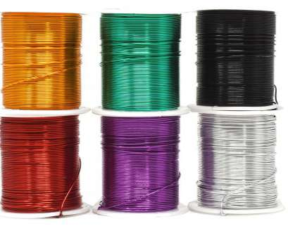 22 gauge aluminum wire Mandala Crafts 12 14 16 18 20 22 Gauge Anodized Jewelry Making Beading Floral Colored Aluminum 22 Gauge Aluminum Wire Creative Mandala Crafts 12 14 16 18 20 22 Gauge Anodized Jewelry Making Beading Floral Colored Aluminum Solutions