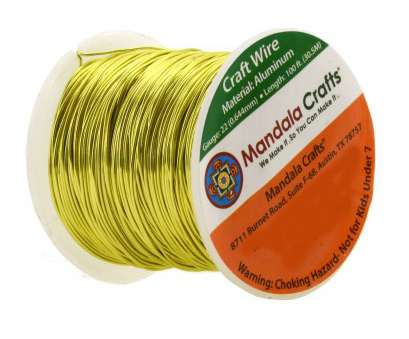 22 gauge aluminum wire Yellow Green Colored Aluminum Craft Wire 22 Gauge, Feet, 30.5 Meters 22 Gauge Aluminum Wire Brilliant Yellow Green Colored Aluminum Craft Wire 22 Gauge, Feet, 30.5 Meters Collections